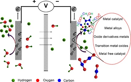 Carbon Dioxide Electrochemical Reduction over Metal and Metal Free Nanostructures: Recent Progress and Future Perspective