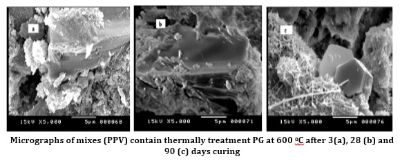 Effect of partial substitution of raw gypsum with thermally treated phosphogypsum on the properties of Portland Pozzolanic Cement